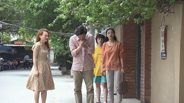 Một trong những phân cảnh lấy đi nhiều nước mắt của người xem lẫn diễn viên Về nhà đi con
