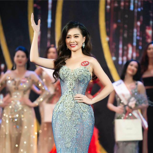 Hà Phương từng lọt top 10 cuộc thi Người mẫu Quý bà Việt Nam 2018.