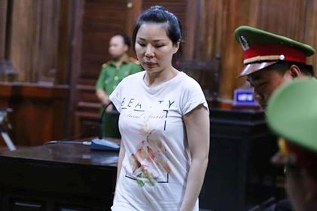 Bà phủ nhận tội danh mà cáo trạng truy tố