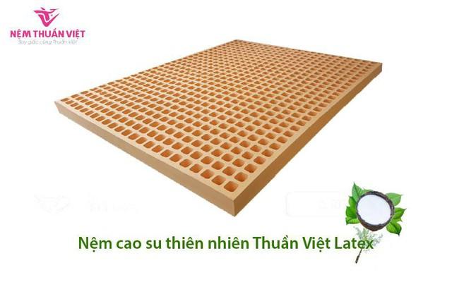 Nệm cao su Thuần Việt Latex – Nệm cao su thiên nhiên cao cấp  - Ảnh 1.