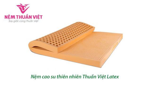 Nệm cao su Thuần Việt Latex – Nệm cao su thiên nhiên cao cấp  - Ảnh 4.