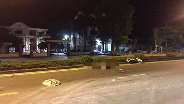 Nghệ An: Làm rõ 2 thanh niên tử vong cạnh xe máy giữa đường - Ảnh 1.