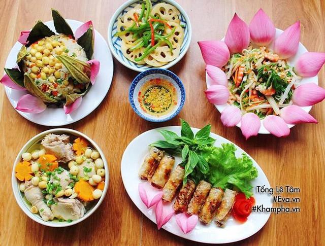 Gợi ý mâm cơm 5 món từ sen siêu ngon cho Ngày gia đình Việt Nam - Ảnh 1.