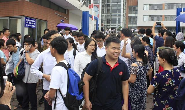 Tổng điểm xét tuyển vào lớp 10 tại Hà Nội khá đẹp, song vẫn còn nhiều thí sinh có điểm thấp. Nguồn: Sở GD&ĐT Hà Nội
