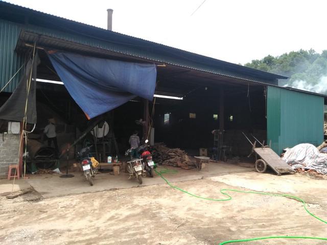 Cơ sở sản xuất than Đức Thủy.