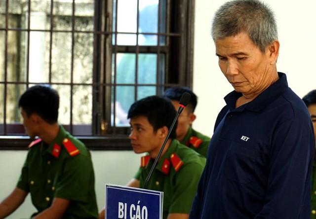 Bị cáo Phan Văn Cường tại tòa. Ảnh: Tuấn Kiệt.