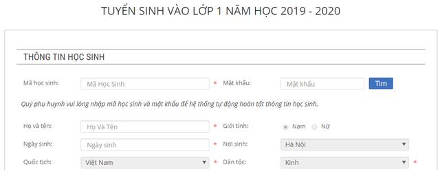 Hà Nội: Tuyển sinh đầu cấp trực tuyến sẽ diễn ra như thế nào? - Ảnh 4.