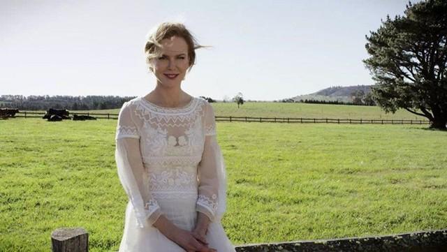 Nicole Kidman và trang trại tại Australia của cô. Ảnh: Hollywood Reporter.