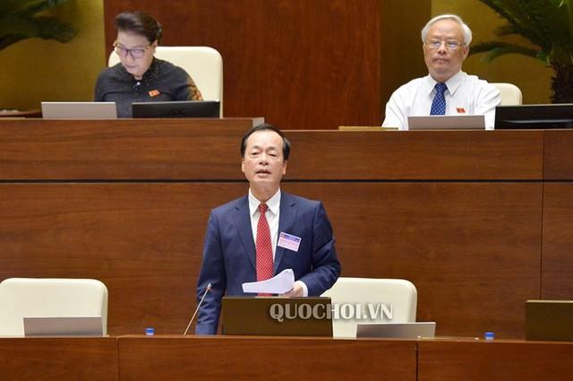 Bộ trưởng Bộ Xây dựng Phạm Hồng Hà.