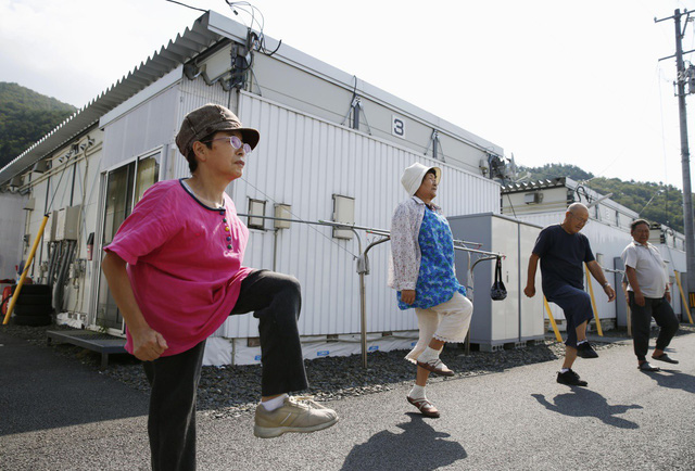 Người cao tuổi tại Nhật có sức khỏe và sự dẻo dai đáng nể phục