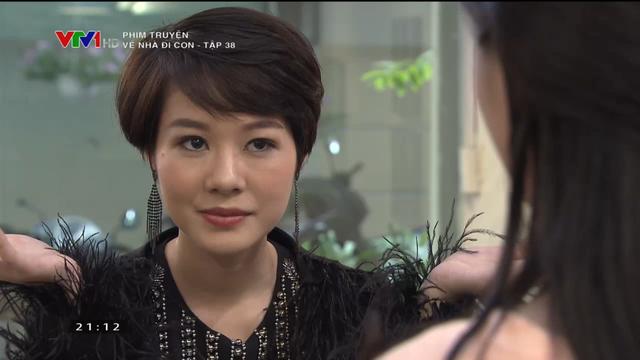 Vai diễn của Hoàng Kim Ngọc trong Về nhà đi con được khán giả yêu thích.