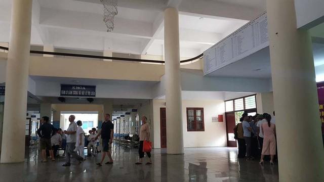 Sảnh khám bệnh, bệnh viện Tâm thần Trung ương I