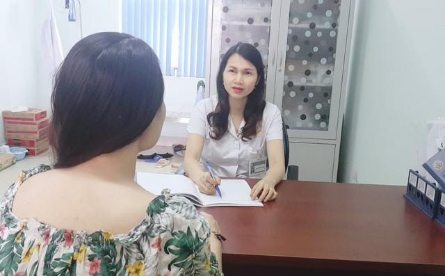 Bác sĩ Vân tư vấn cho trường hợp mắc bệnh trầm cảm