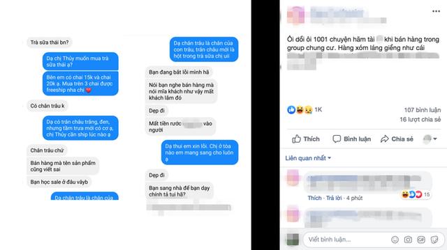 Câu chuyện mua hàng online khiến dân tình bức xúc mới đây.