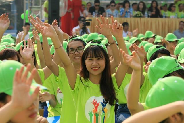 Sự kiện kêu gọi chung tay hành động giảm thiểu mất cân bằng giới tính khi sinh do UNFPA cùng ngành dân số Việt Nam tổ chức tại Hà Nội. Ảnh: chí cường