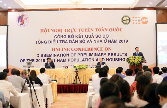 Hội nghị trực tuyến công bố kết quả Tổng điều tra dân số và nhà ở năm 2019
