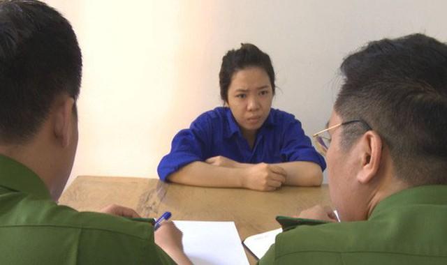 Nguyễn Thị Quỳnh Như tại cơ quan điều tra
