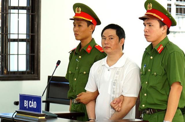 Phan Văn Sứ tại phiên tòa. Ảnh: Tuấn Kiệt.