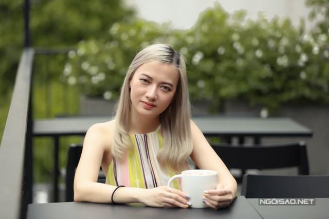 Xuân Nghi trong cuộc phỏng vấn với Ngoisao.net đầu tháng 7/2019.