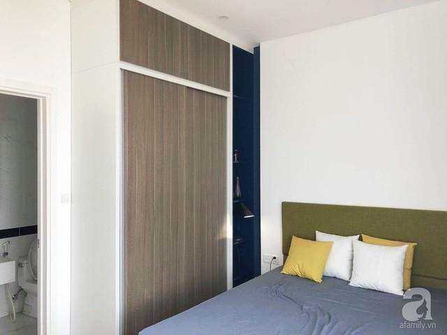 Góc nghỉ ngơi được thiết kế đơn giản, thanh lịch nhờ bố trí nội thất và kết hợp các sắc màu.
