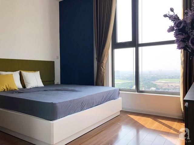 Những màu sắc đơn giản được kết hợp hài hòa, đủ để không gian nghỉ ngơi trở nên êm dịu và thư thái.