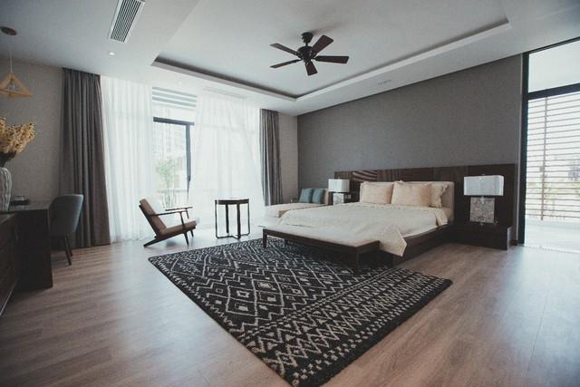 Phòng ngủ sang trọng mang lại nơi nghỉ ngơi thoải mái cho chủ nhân