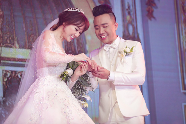 Trấn Thành và Hari Won cũng có quy định riêng cho khách mời trong đám cưới.
