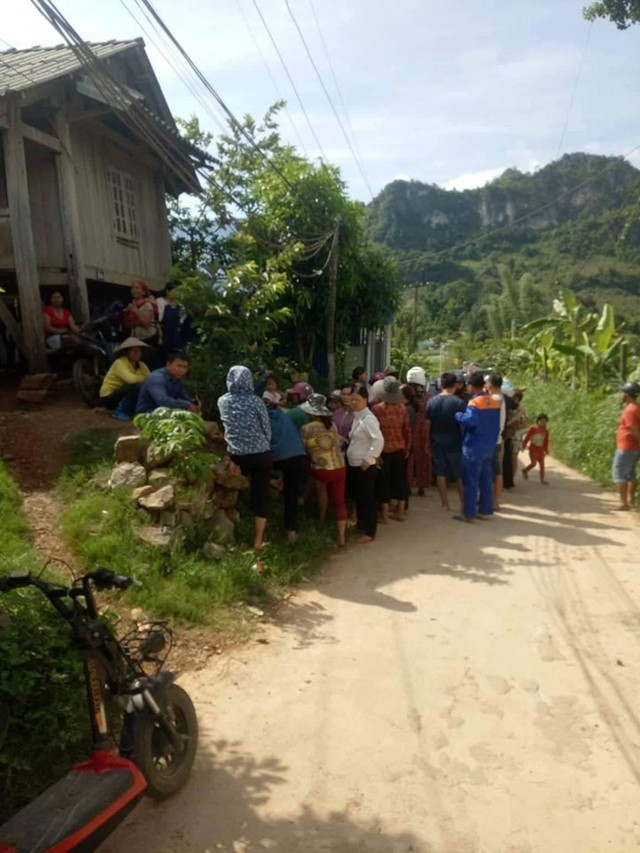 Vụ việc gây rúng động làng quê.