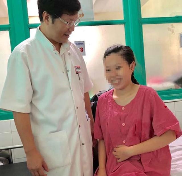 Bệnh nhân đã hồi phục tốt. Ảnh BVCC
