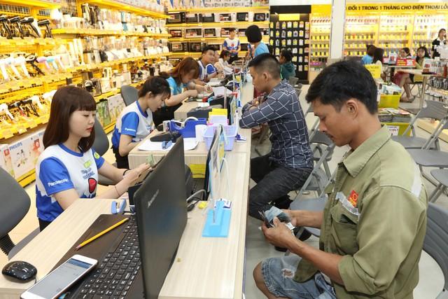 Điện Máy Xanh có nhiều hình thức thanh toán dành cho khách hàng như tiền mặt, thẻ ngân hàng hay ví điện tử.