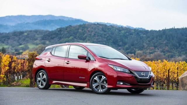 Nissan Leaf đứng thứ 5. (Ành: Nissan)