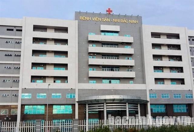 Bệnh viện Sản - Nhi Bắc Ninh, nơi xảy ra vụ việc