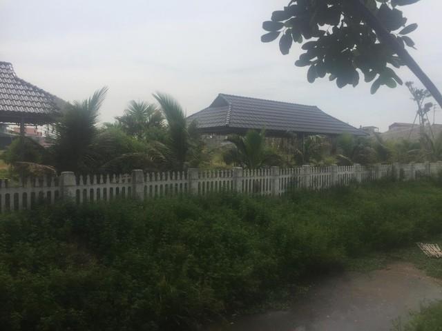 Khu đất đã được đầu tư nhiều hạng mục.