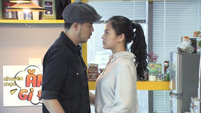 Thu Quỳnh và Tuấn Tú trong phim Về nhà đi con.