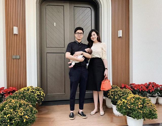 Gia đình nhỏ của Dương Tú Anh