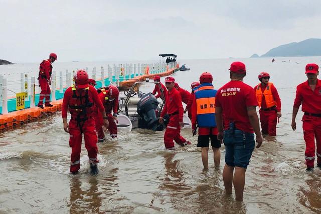 Hồ nước gần quận Tương Sơn ở Ninh Ba, tỉnh Chiết Giang - nơi phát hiện thi thể cô bé xấu số