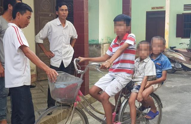 Nghệ An: Sợ bố mẹ mắng vì bỏ đi chơi, 3 đứa trẻ dựng chuyện bị bắt cóc - Ảnh 1.
