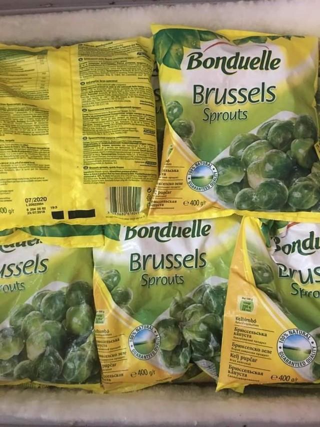 Bắp cải tí hon được quảng cáo có xuất xứ từ Pháp, giá gần 400.000 đồng/kg