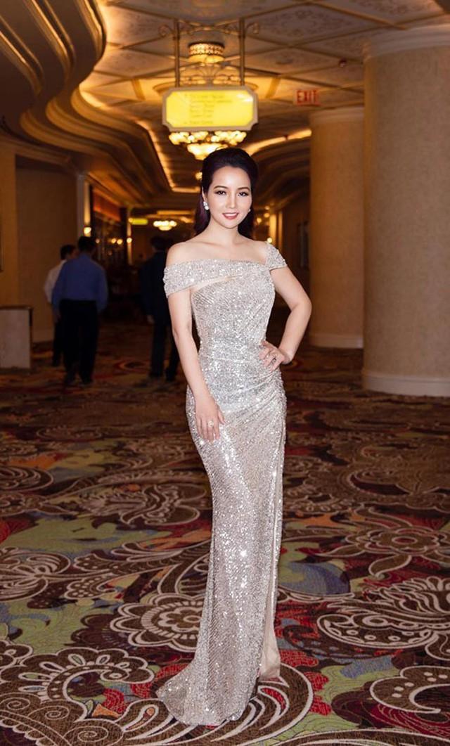 Mai Thu Huyền  trẻ đẹp tỏa sáng lộng lẫy tại Ms & Mr Golden Sea 2019 (Nguồn ảnh: Star.vn)