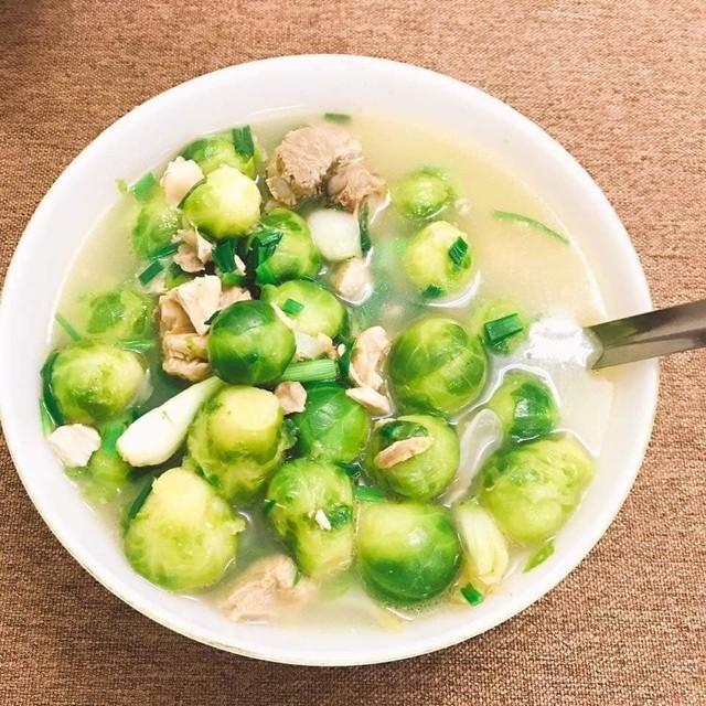 Đây là loại rau đã cấp đông được rất nhiều người chọn mua về chế biến các món ăn
