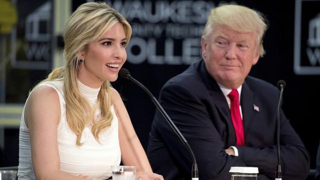 Ivanka Trump giờ là niềm tự hào của cha mình.