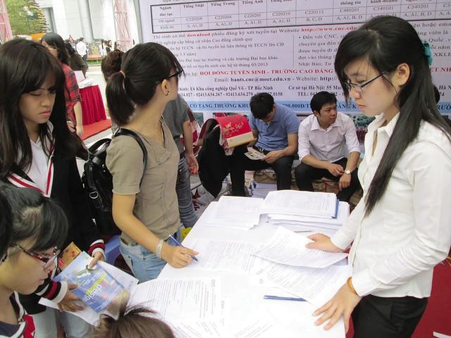 Thí sinh thực hiện điều chỉnh nguyện vọng xét tuyển vào đại học bắt đầu từ ngày 22/7.     Ảnh minh họa: Q.Anh