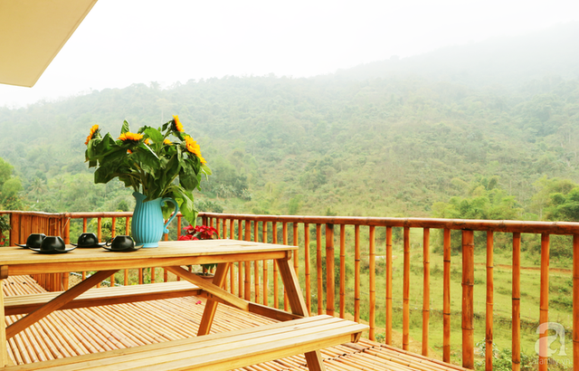 Đồi núi bao la, xanh tươi là một trong những ước muốn của nhiều người được sống ở đây.