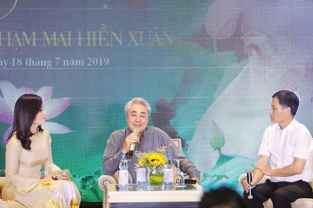 NSND Quang Thọ là người thầy có nhiều ảnh hưởng đến Hiền Xuân từ những ngày đầu và cả sau này