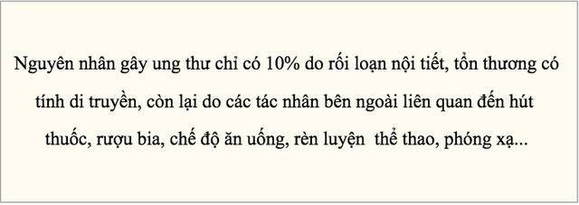 Giám đốc Bệnh viện K nói về việc tỷ lệ người Việt chết vì ung thư cao  - Ảnh 1.