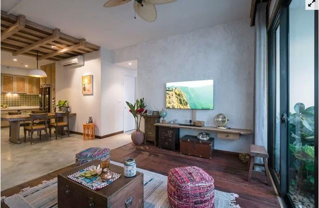 Sự thay đổi của trần nhà cũng như sàn nhà là một phép phân chia ranh giới linh hoạt giữa các phòng.