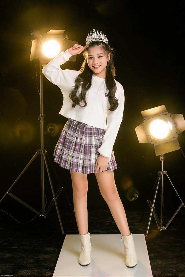 Võ Khánh Ngọc đến với The Voice Kids 2019 lần này với mục đích học hỏi và giao lưu, trước khi cho ra mắt các sản phẩm âm nhạc chuyên nghiệp trong thời gian tới. Ảnh: BTC
