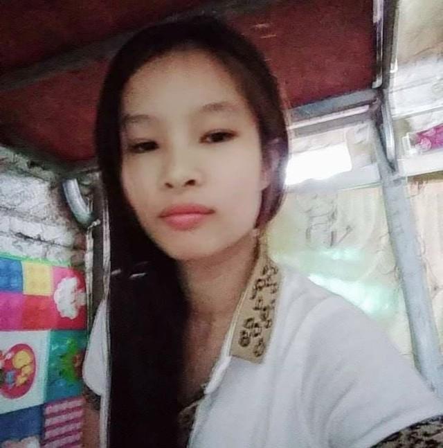 Chị Hoài mất tích khi đi làm cùng chồng ở Trung Quốc (ảnh gia đình cung cấp)