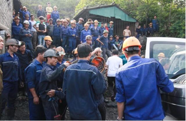 Đang làm việc, nam công nhân ngành than bị điện giật tử vong - Ảnh 1.