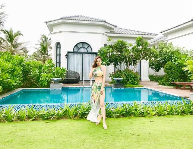 Sau khi kết hôn với đại gia, Lã Thanh Huyền có cuộc sống sang chảnh.